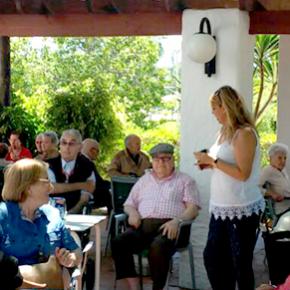 Moment de l'excursió a Devesa Gardens. Residencia San José