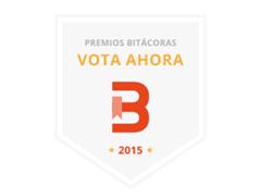 ¡Nos presentamos a los Premios Bitácoras!